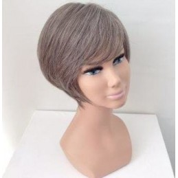 parrucca capelli sintetici-...